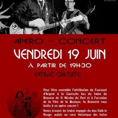 affiche concert Oxik