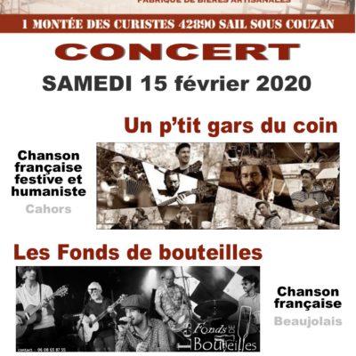 15 janvier, chanson française à la Canaille